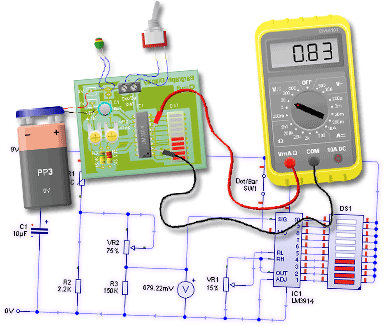 برنامج Circuit Wizard لمحاكاة الدوائر الالكترونية