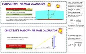 ملف للاشعاع الشمسي