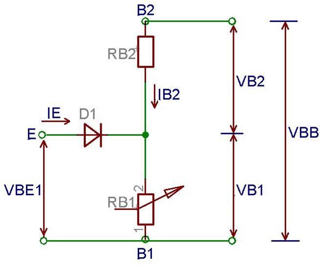 دارة الترانزيستور وحيدة الوصلة