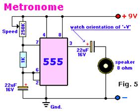 دارة Metronome