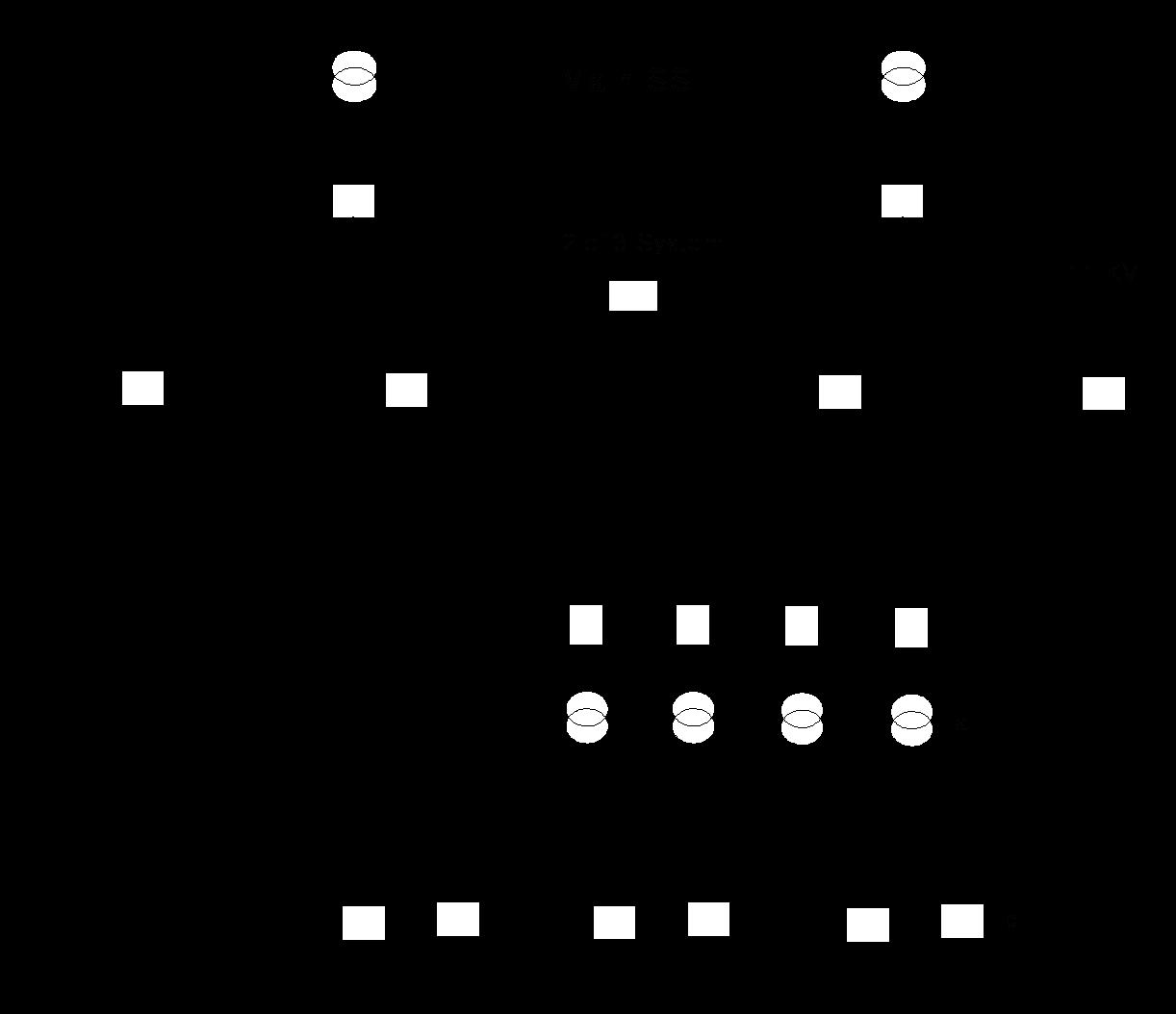 مخطط شبكة توزيع بمغذي رئيسي واحد