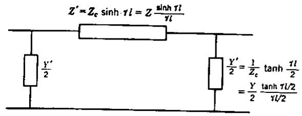 الدائرة المكافئة للخطوط الطويلة