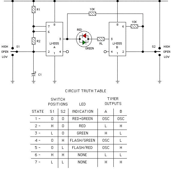 التحكم بثنائي ضوئي ذو قطبين