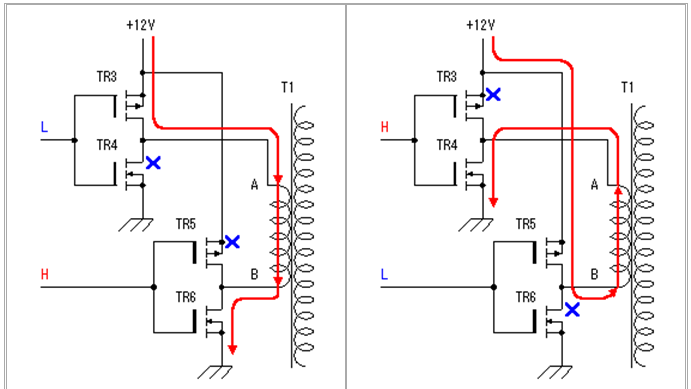 دارة تحكم بالترانزيستور MOSFET