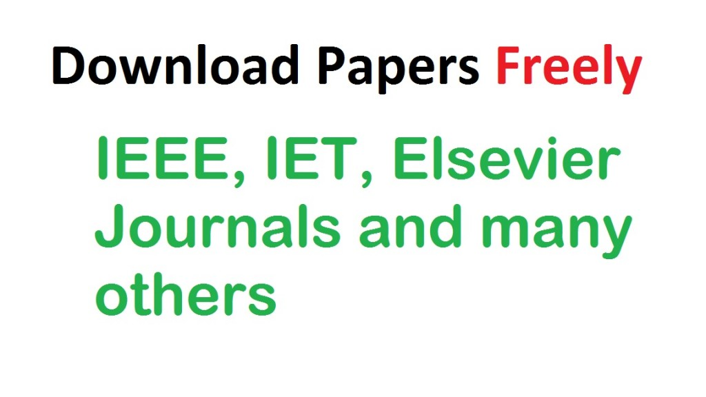 download any paper freely